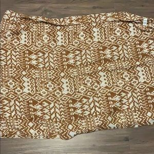 Tan and white scarf never worn!